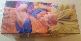 Scultures 6 Goku Ssj 3 Kamehameha figura Colosseum