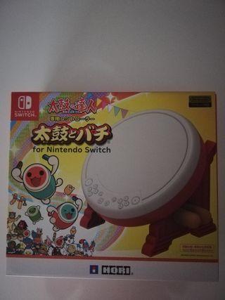 tambor Nintendo switch