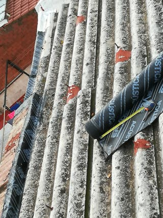goteras, tejados, uralitas