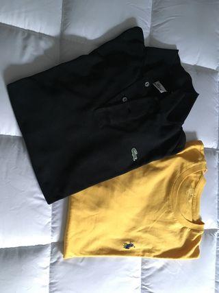 Lacoste y camiseta Ralph Lauren