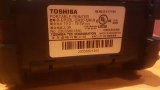 impresora etiquetadora Toshiba B-EP2DL