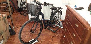 Bicicleta paseo BH London Lite wave con cesta