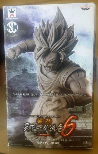 Scultures 6 DBZ Goku Ssj ataque figura Colosseum