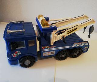 Camión grúa juguete