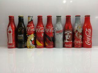 botellas aluminio llenas colección