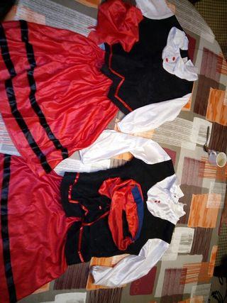 Disfraz de pastorcita talla 4-5 y 6-7