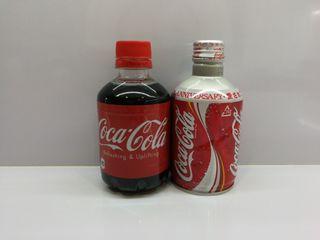 botella plastico y aluminio colección