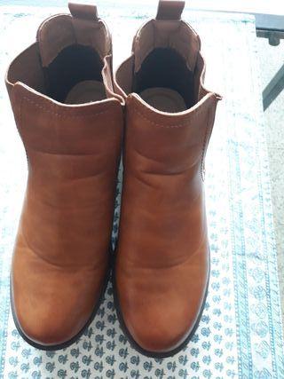 botas de piel marypaz