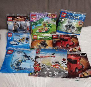 POLYBAGS DE LEGO SELLADAS