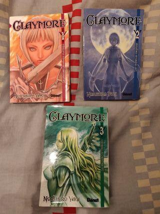 Manga Claymore 1-3