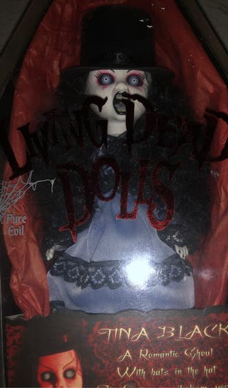 LIVING DEAD DOLLS TINA BLACK