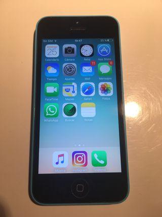 Apple iPhone 5c azul 8GB