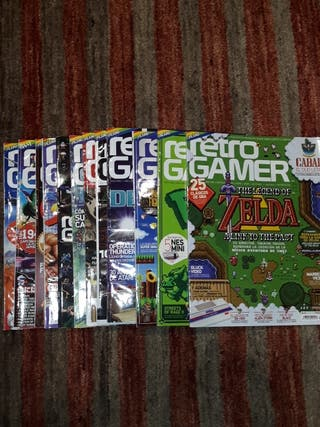 Lote revistas Retro Gamer
