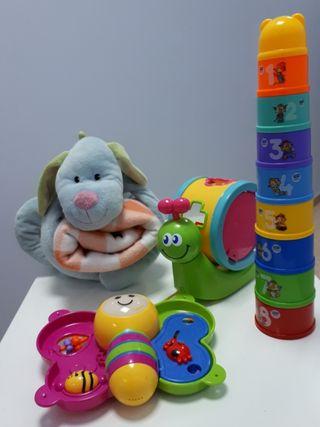 lote juguetes niño niña bebe. juguete