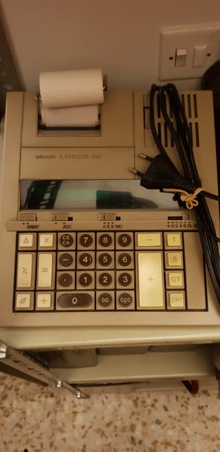 Calculadora electrónica Olivetti