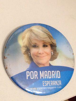 Chapa Esperanza Aguirre