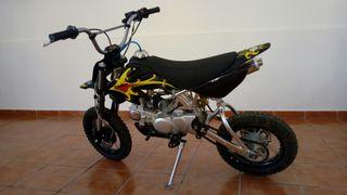 moto pit bike 125 cc