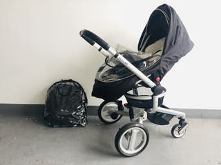 Sliver cross baby pram