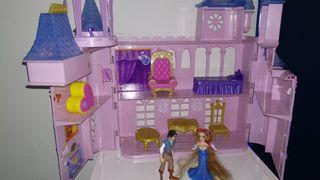 castillo princesa disney