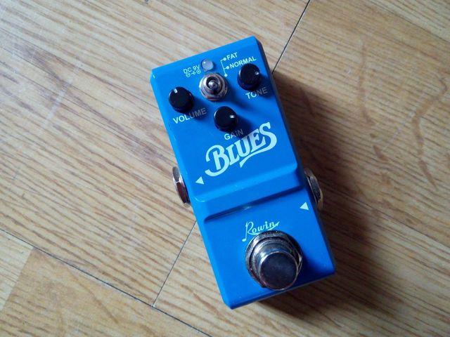 Pedal distorsion Guitarra Rowin LN-321 Blues NANO