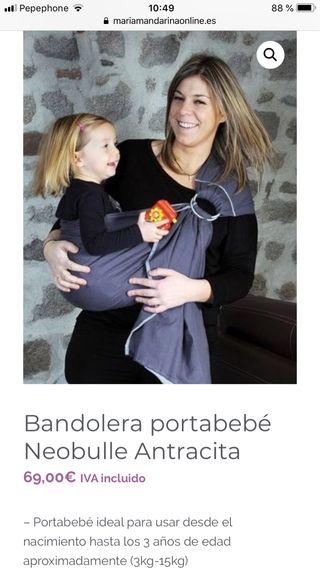 Bandolera porta bebé Neobulle