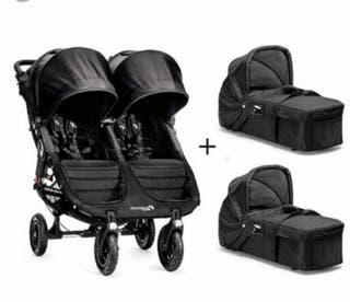 carrito gemelar baby jogger city mini