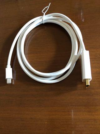Cable 2 metros de MacBook a HDMI