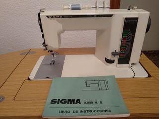 máquina de coser SIGMA 2000 NS + mueble