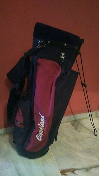 bolso cleveland , palos de golf y accesorios