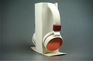 Auriculares Bluetooth modernos blancos