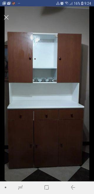 Mueble de cocina de segunda mano en wallapop for Busco muebles de cocina de segunda mano