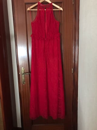 Vestido rojo largo easy wear