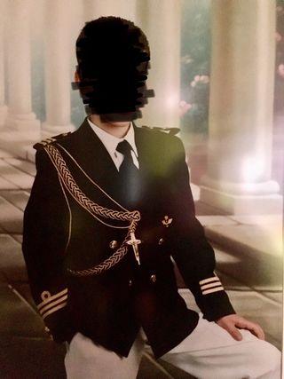 Traje almirante comuñion