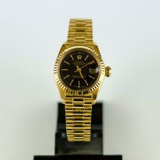 Rolex president 6917 Sra. en oro 18k