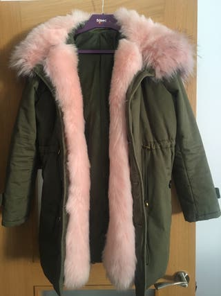 Parka abrigo mujer talla 36/38