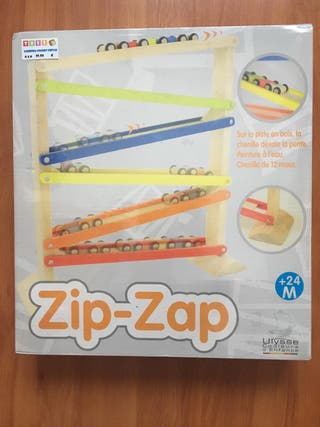 Zip zap coches (madera)