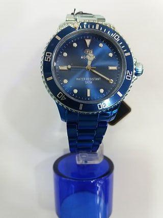 reloj marea caballero azul