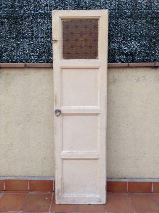 Puertas de madera viejas de segunda mano en wallapop for Puertas de paso segunda mano