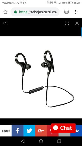 Auriculares Deporte sin cables
