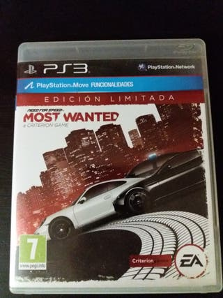 Juego PS3 Need For Speed Most Wanted