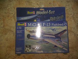 Maqueta de Avion militar