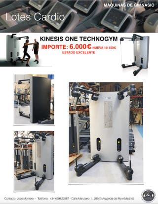 KINESIS ONE TECHNOGYM, GIMNASIO
