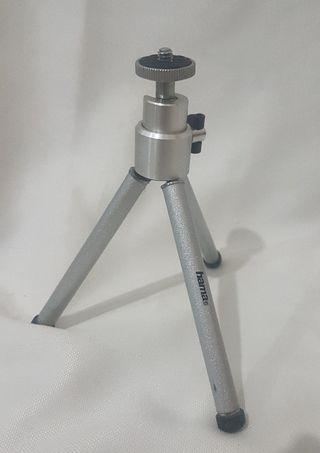 Minitripode Hama metalico telescopico de 18cm
