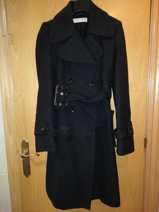 De 25 Mujer Segunda Negro Paño Abrigo Zara Mano Por nzBRqIAwI