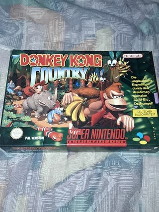 Donkey Kong Country Super Nintendo
