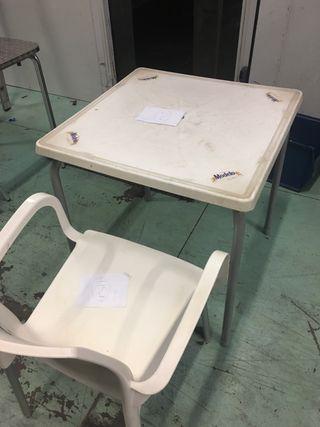 Mesas y sillas de bar o jardin de segunda mano por 20 en for Mesas y sillas de jardin segunda mano