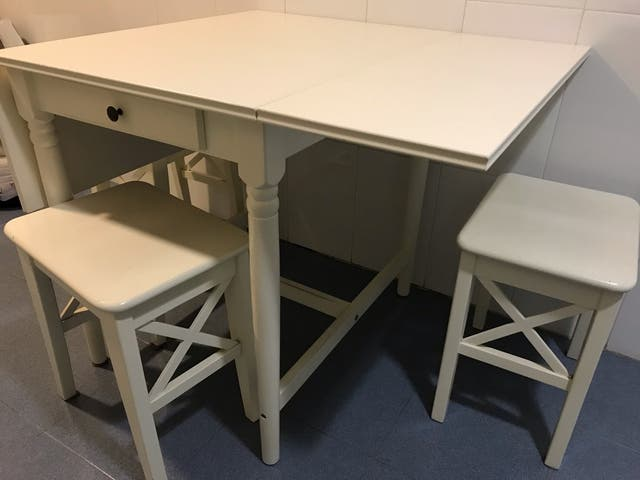 Mesa plegable de cocina modelo Ikea de segunda mano por 50 € en ...
