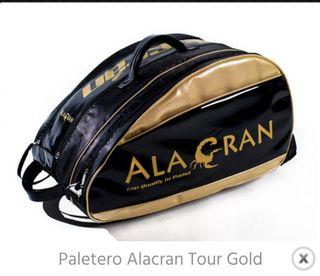 """Paletero padel """"Alacran Tour Gold """" (mochila)"""