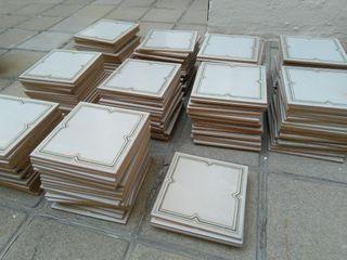 200 baldosas beis azulejos cocina baño vintage
