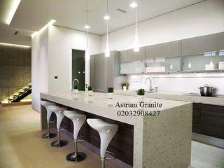 Top Quality White Galaxy Quartz Kitchen Worktop